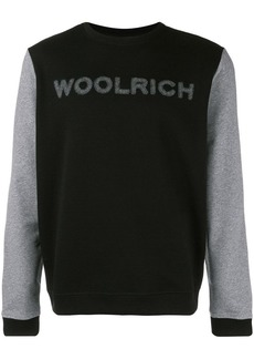Woolrich bonded crew neck fleece