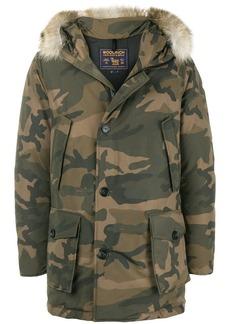 Woolrich camouflage parka