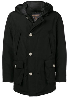 Woolrich cargo pocket hooded jacket