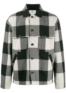 Woolrich check button-down shirt jacket