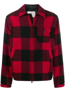 Woolrich check pattern jacket