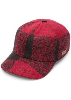 Woolrich checked baseball cap