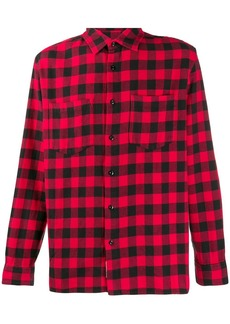Woolrich checked long sleeved shirt