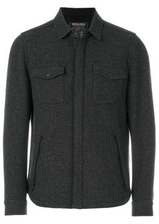 Woolrich concealed fastening shirt jacket