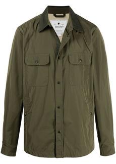 Woolrich contrasting collar shirt jacket
