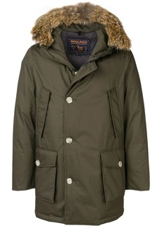 Woolrich coyote fur hooded coat