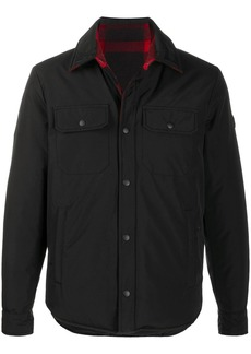Woolrich down padded shirt jacket