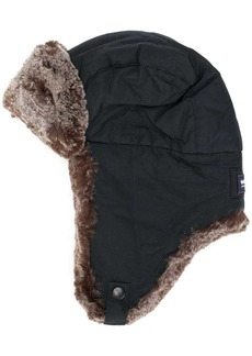 Woolrich faux-fur contrast hat