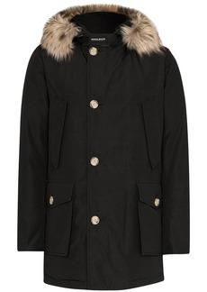 Woolrich faux fur trim parka