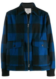 Woolrich gingham check jacket