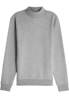 Woolrich High-Neck Sweatshirt with Cotton