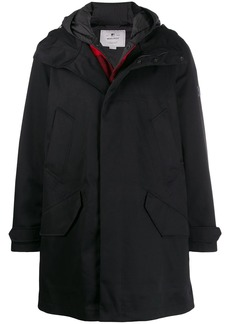 Woolrich hooded duffle coat