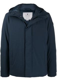 Woolrich hooded zipped parka