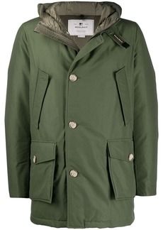 Woolrich hooded puffer jacket