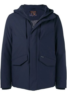 Woolrich hooded shell jacket