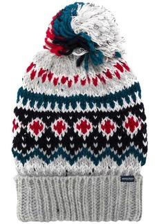 Woolrich intarsia bobble hat