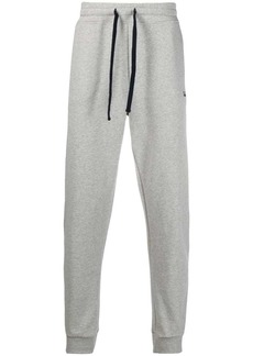 Woolrich logo-embroidered cotton track pants