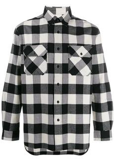 Woolrich long-sleeved check shirt