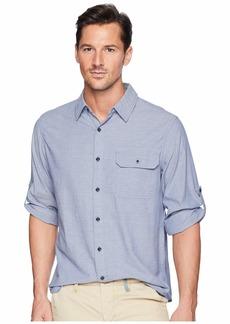 Woolrich Modern Fit Eco Rich Midway Convertible Sleeve Shirt