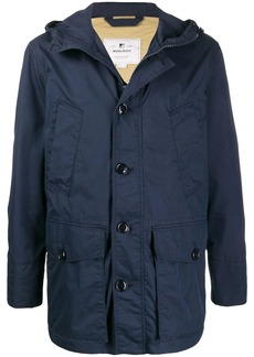 Woolrich multi-pocket hooded jacket