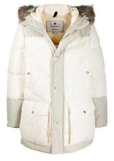 Woolrich padded parka coat