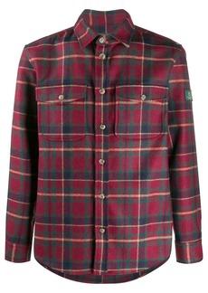 Woolrich plaid chest pocket shirt