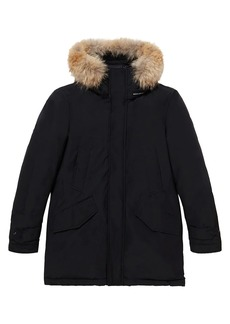 Woolrich Polar Coyote Fur-Trimmed Down Parka