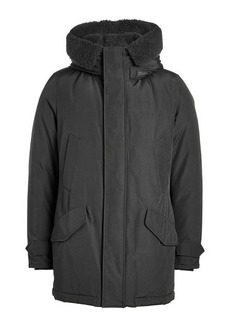 Woolrich Polar Down Parka with Shearling Lining