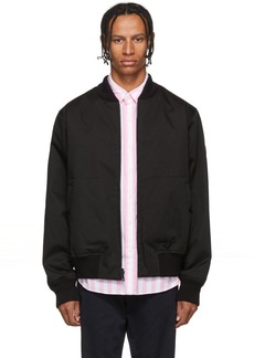 Woolrich Reversible Black Bomber Jacket