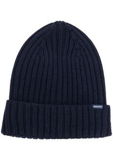 Woolrich rib knit beanie