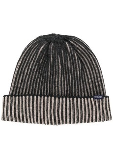 Woolrich ribbed beanie hat