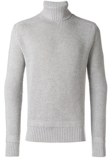 Woolrich ribbed roll neck jumper