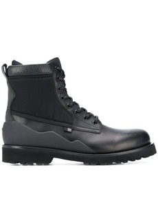 Woolrich ridged lace-up boots