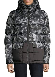 Woolrich Sierra Faux Sheepskin Down Jacket
