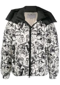 Woolrich sketch print jacket