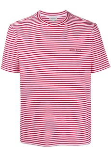 Woolrich striped logo T-shirt