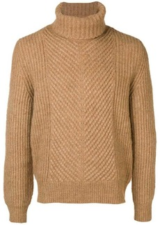 Woolrich turtleneck ribbed jumper