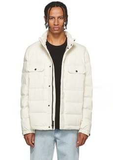 Woolrich White Down Sierra Stag Jacket
