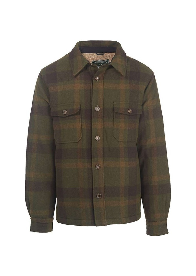 woolrich woolrich men 39 s charley brown jacket outerwear shop it to me. Black Bedroom Furniture Sets. Home Design Ideas