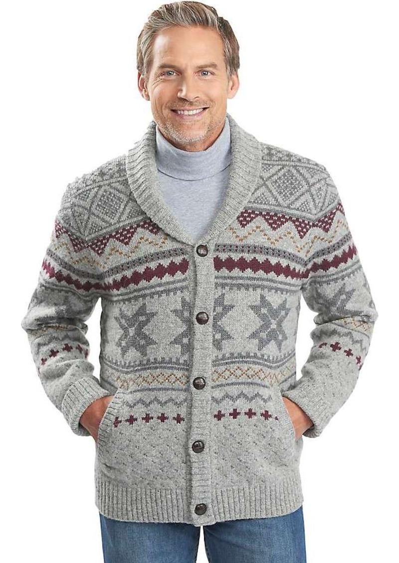 Woolrich Woolrich Men's Ultra-Line Fair Isle Cardigan | Sweaters ...