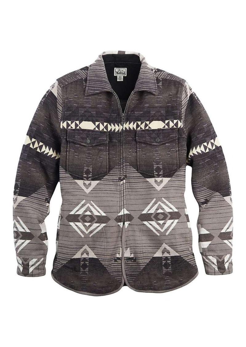 Woolrich Men's Jacquard Flannel Shirt