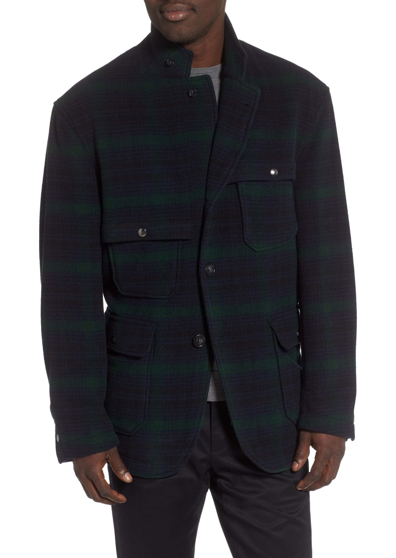 Woolrich Big Game Plaid Coat