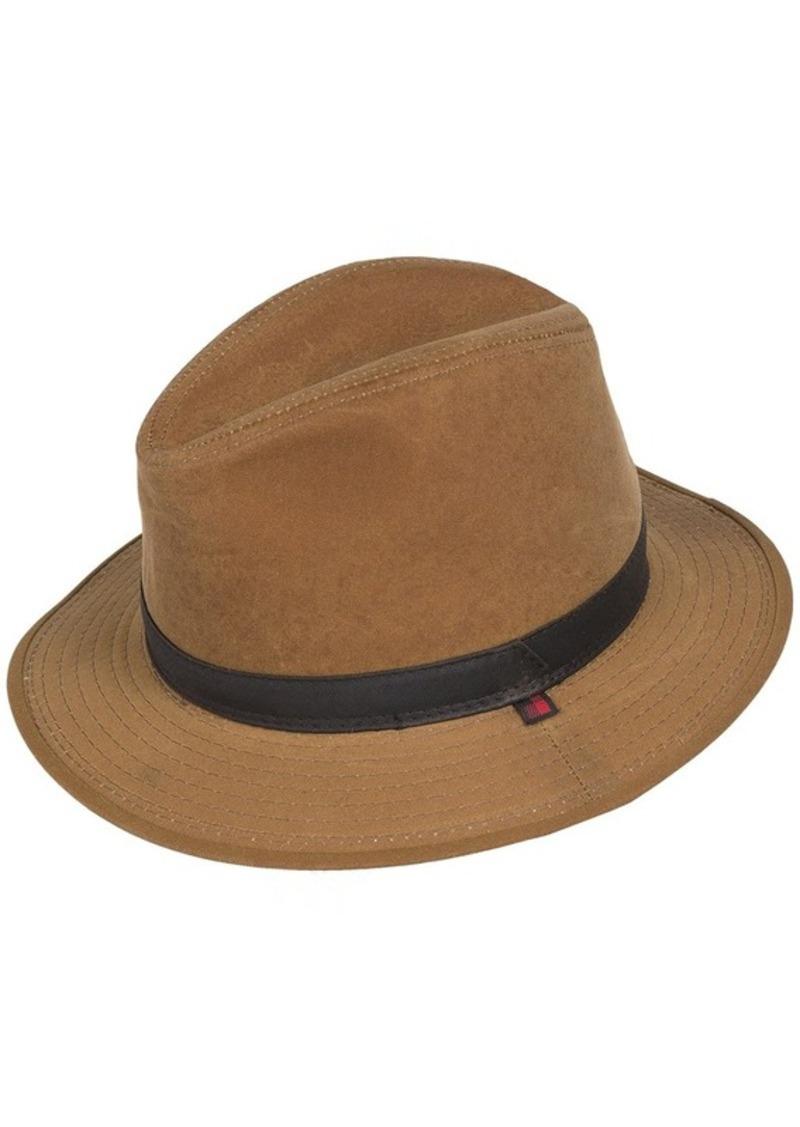 3b5b236fd6022 Woolrich Woolrich Cotton Oilcloth Safari Hat - Hidden Ear Flaps (For ...