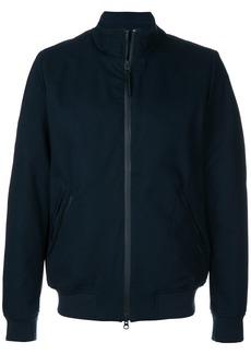 Woolrich crew bomber jacket - Blue
