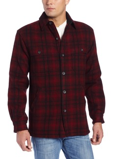 Woolrich Men's Wool Stag Shirt Jacket