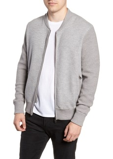 Woolrich Felted Wool Bomber Jacket