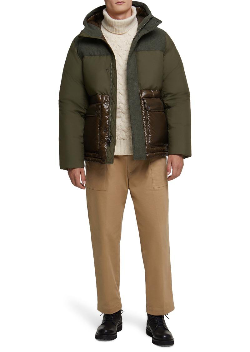 Woolrich Intarsia Down Mountain Jacket