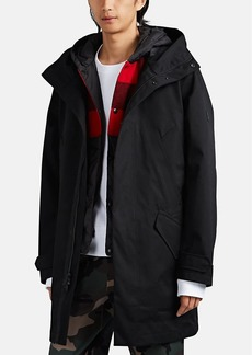 Woolrich John Rich & Bros. Men's 2-In-1 Tech-Gabardine Parka