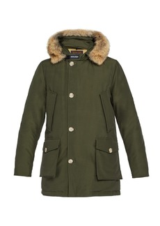 Woolrich John Rich & Bros. Quilted cotton-blend parka