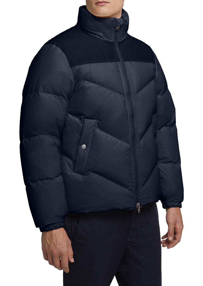 Woolrich Logo Arctic Down Puffer Coat